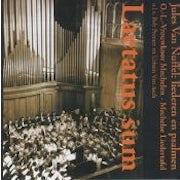 Jules Van Nuffel, Kamiel Cooremans, Bob Peeraer, Urbain Van Asch - Laetatus sum (CD album scan)