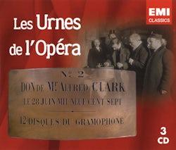 Les urnes de l'opéra - 1907/1912