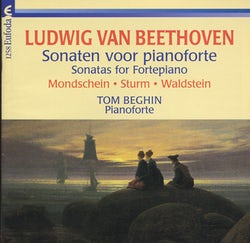 Tom Beghin, Ludwig Van Beethoven - van Beethoven Ludwig - Sonaten voor pianoforte (CD album scan)