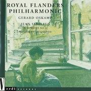 Koninklijk Filharmonisch Orkest Van Vlaanderen, Jean Sibelius, Gerard Oskamp - Sibelius Jean (CD album scan)