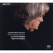 La Petite Bande, Johann Sebastian Bach, Sigiswald Kuijken - Bach J.S. - Weihnachtsoratorium (CD album scan)