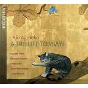 Duo Agineko - A tribute to Ysaÿe (CD album scan)
