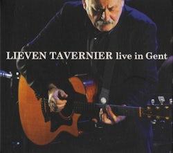 Lieven Tavernier - Live in Gent (CD album scan)