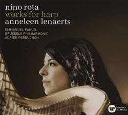 Anneleen Lenaerts, Nino Rota, Brussels Philharmonic - Nino Rota - Works for harp (CD album scan)