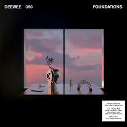 Diverse uitvoerders - Foundations (Vinyl LP compilatie scan)